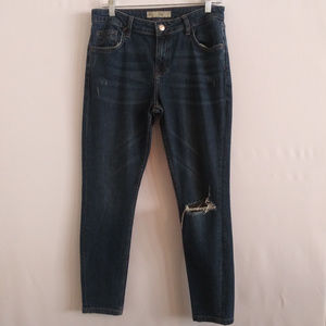 Topshop Moto Lucas Boyfriend Jeans Size 30